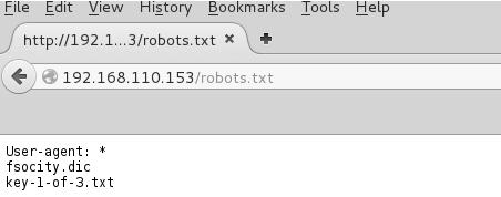 Mr-Robot: 1 walkthrough |